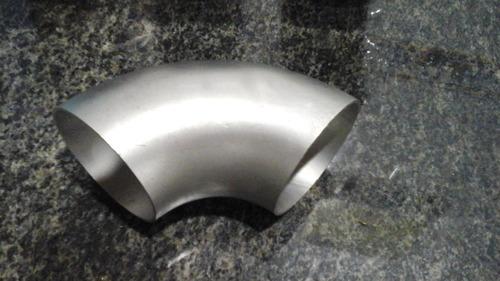 codo de acero inoxidable 3 1/2 pulgadas