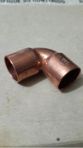 codo de cobre 7/8 para aire acondicionado