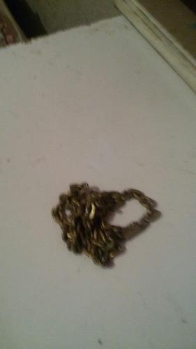codão de prata banhado a ouro