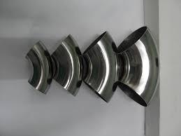codo/curva de acero inoxidable de 38 mm (1.1/2 ) x 1.5 mm