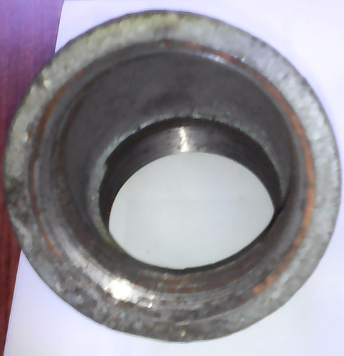 codos 45 º  de 2 pulg hierro galvanizado reforzado