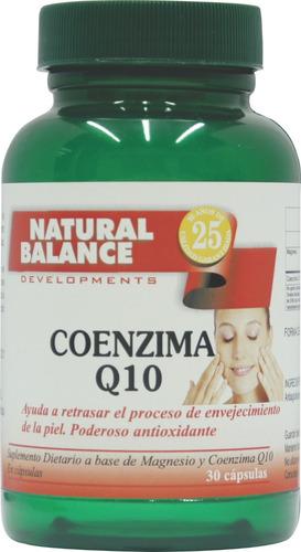 coenzima q 10, 30 capsulas, anti age, anti fatiga