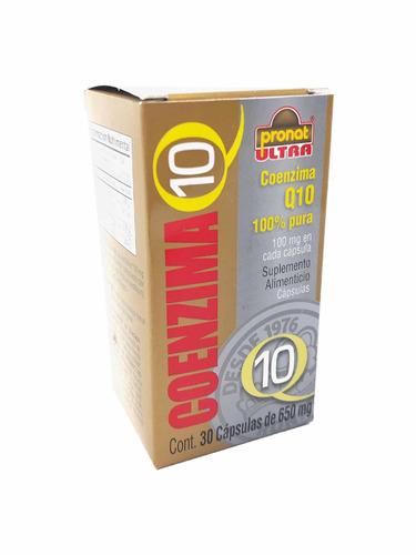 coenzima q10 (2 piezas) con 30 capsúlas pronat