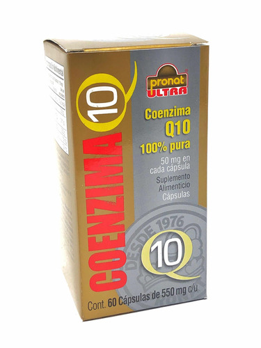 coenzima q10 (2 piezas) con 60 capsúlas pronat