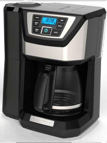 coffe maker digital con moledor de café b&d 12 tz cm5000bd