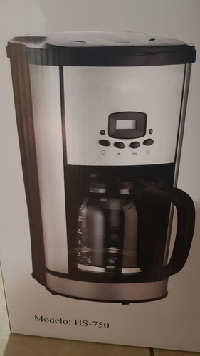 coffe maker home solutions hs-750 12 tz. digital