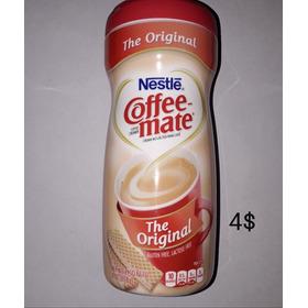 Coffe Mate 4$,  Descafeinado Instantáneo 2$. 2x6$