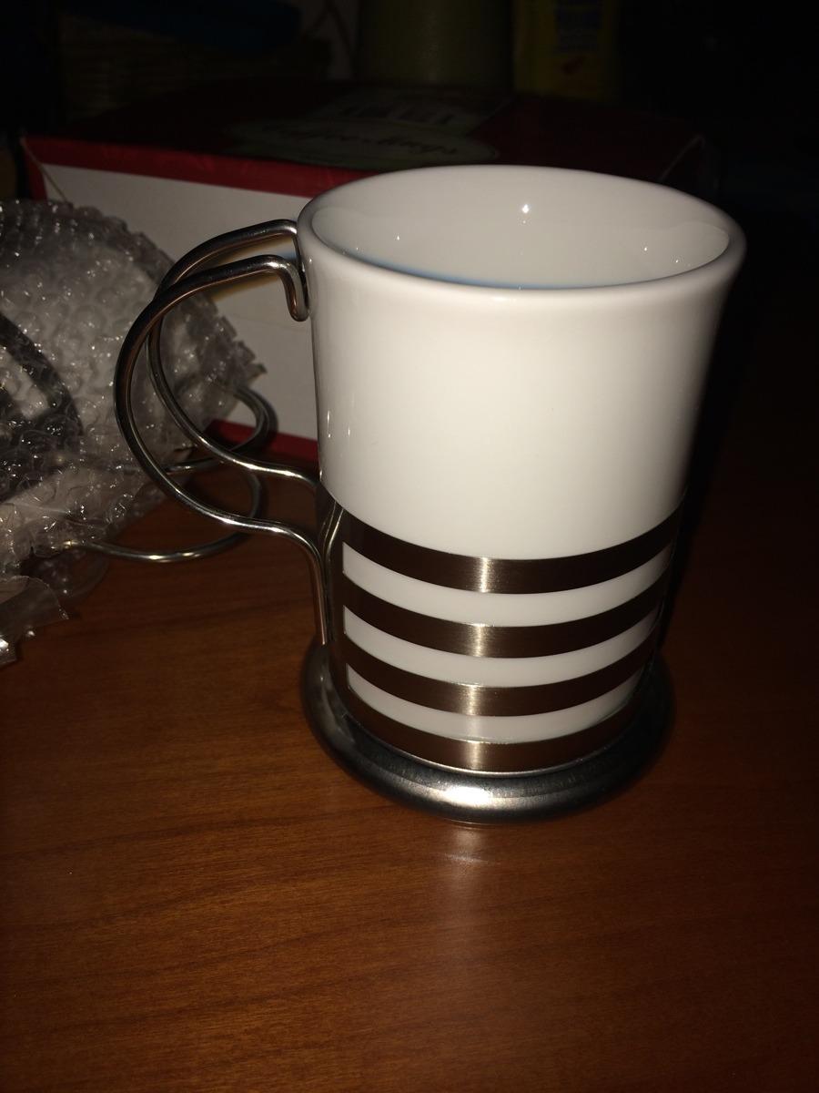 Coffe mug par juego de tazas para cafe ceramica 200 ml for Tazas para cafe espresso