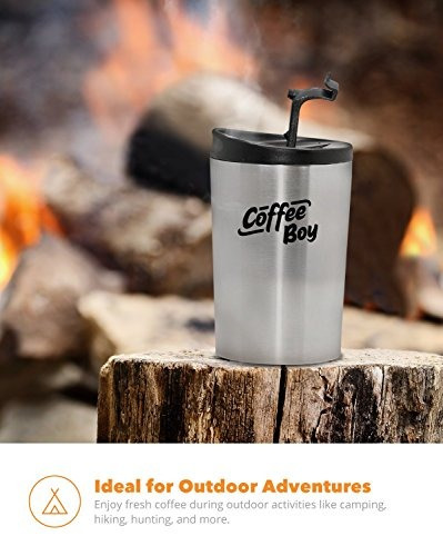 coffee boy allinone portable coffee maker, with rechargeable