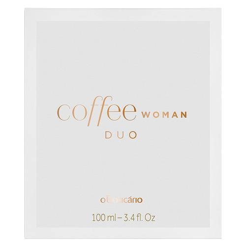 coffee desodorante colônia duo woman 100ml