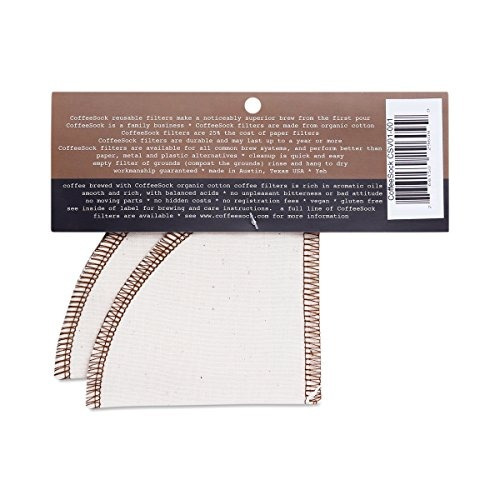 coffeesock hario v60  01 estilo  gots certificado algodón or