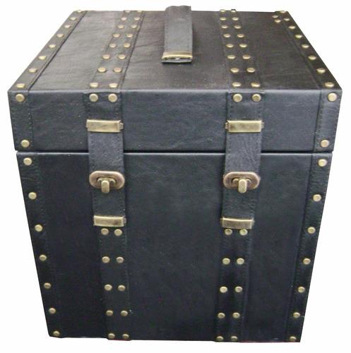 cofre baúl madera tipo alhajero. diseño de autor