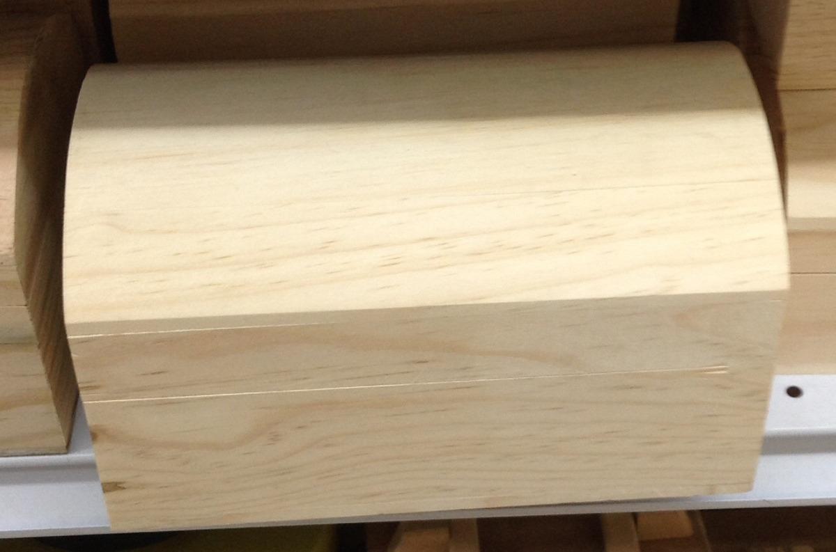 Cofre baul para recuerdo o alajero de madera en for Baul madera barato
