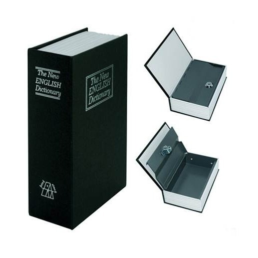 8f17d8c3e0b Cofre Camuflado Formato Livro 2chaves Grande Porta Joias - R  53