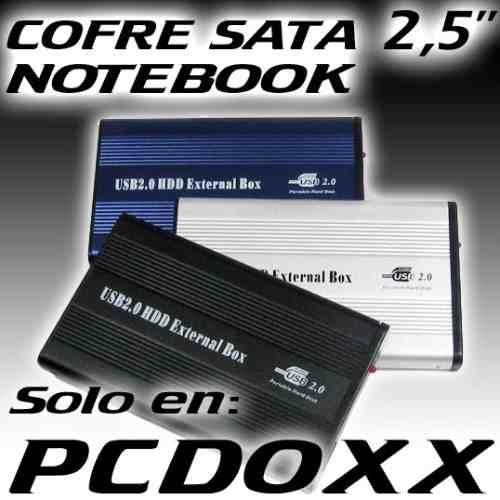 cofre case para disco duro sata serial ata 2.5 usb notebook
