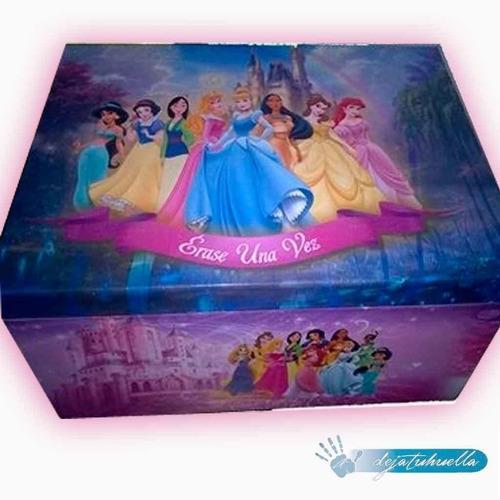 cofre de princesas (34x11x10)