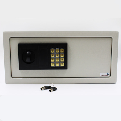 cofre de segurança eletrônica proteção notebook 43x35cm