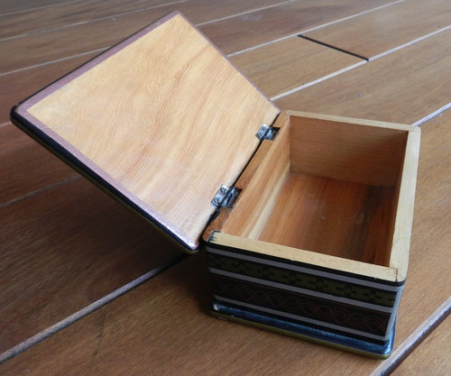 cofre decorativo de madera