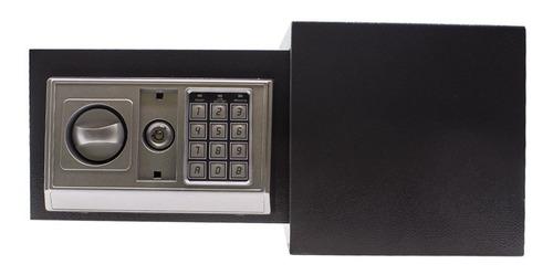 cofre eletrônico digital grande 31x20x20 aço senha e chave