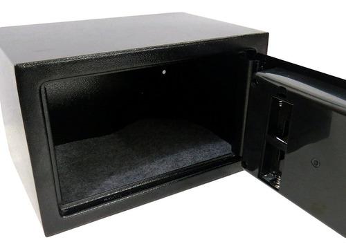 cofre eletrônico digital grande 31x20x20cm chave reserva
