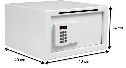 cofre eletrônico digital p/ office c/boca de lobo alp 24x40x