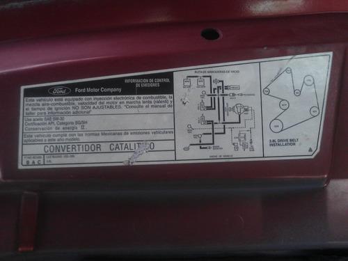 cofre ford windstar 1998 fibra de vidrio original