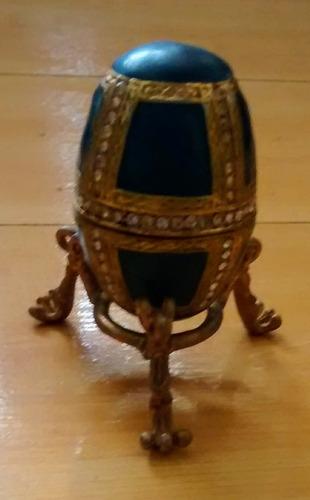 cofre joyero huevo miniatura