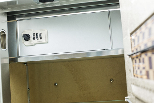 cofre kepler  digital luxo - modelo fdx-95 platinum