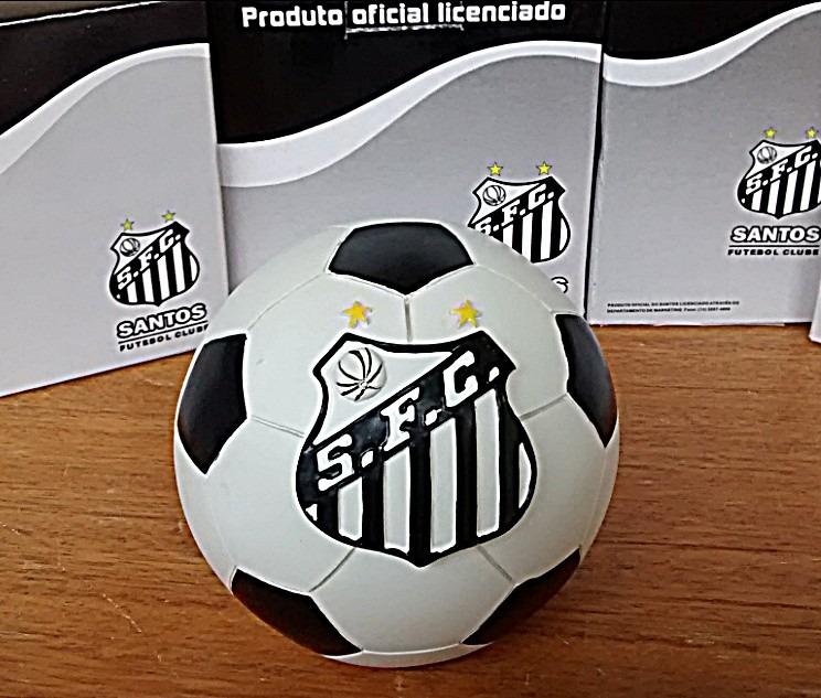 Cofre Mascote Chaveiro E Despertador Santos Futebol Clube - R  27 cb5fda47f1efa