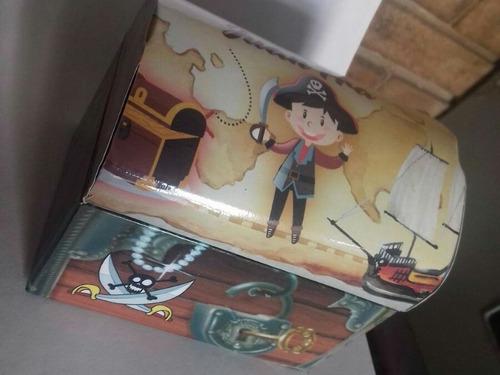 cofre pirata de madera personalizados pack por 15 unidades