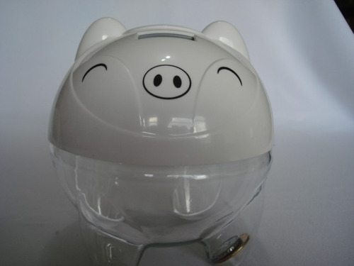 cofre porquinho digital contador de moedas