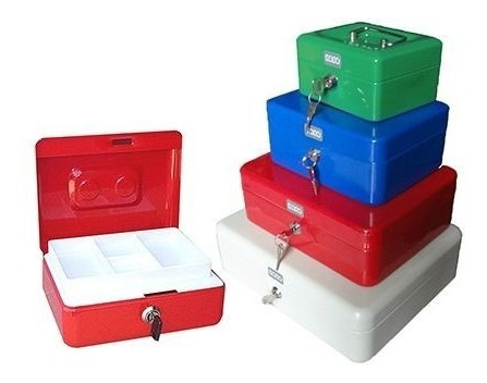 cofre portavalores caja de metal dinero n°4 300x240x90 v3