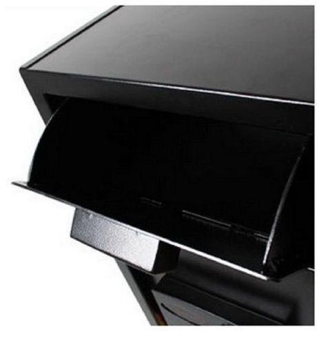 cofre smart store security 6800 black c/ boca de lobo