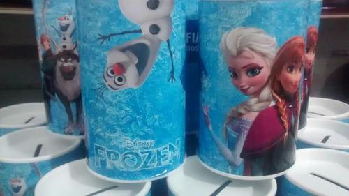 cofrinho personalizado frozen - peppa - minions - minnie