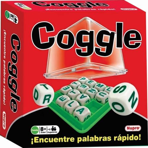 coggle juego formar palabras con dados  nupro mundo manias