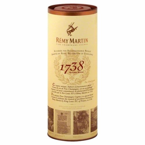 cognac champagne remy martin edicion 1738 frances