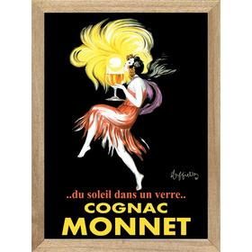 Cognac Monnet , Cuadro, Poster, Publicidad, Bebida      M533