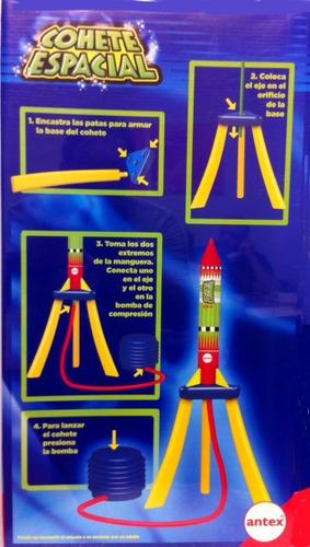 cohete espacial de juguete antex listo para volar