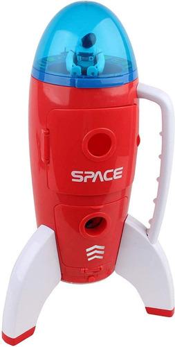 cohete nave espacial c/ luz y sonido astro venture 63114 edu