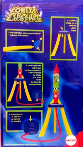 cohete nave espacial lanzador antex 30cms a volar ! en cadia