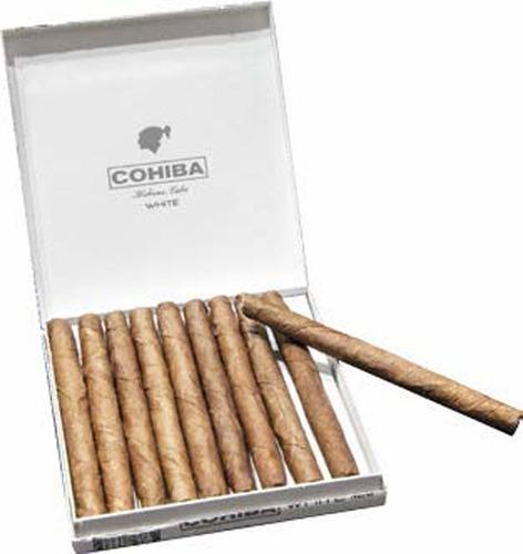 cohiba cigarrillos habano habanos mini white cigarros suaves