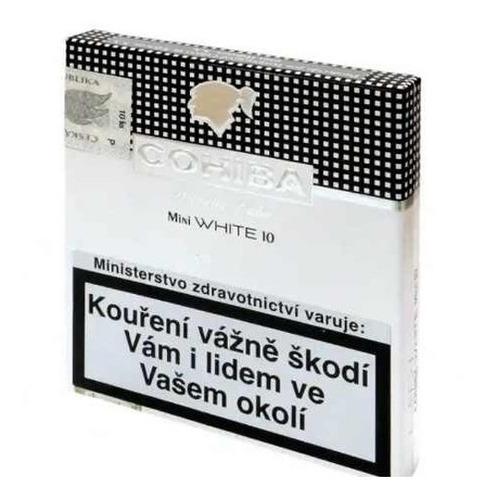 cohiba mini white cigarrillos habano habanos cigarros suaves