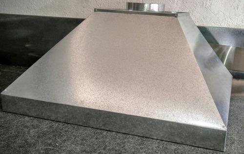 coifa industrial completa em galvanizado p/ padaria