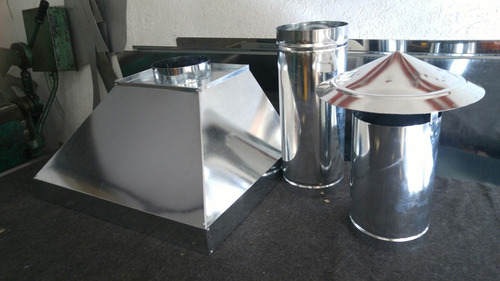 coifa industrial inox e galvanizado kit completo p/ padaria