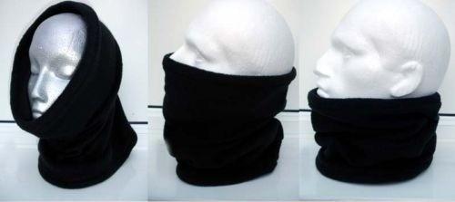 coipa (bufanda, gorro, cubrebocas) negras, nuevas