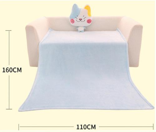 cojín almohada con manta