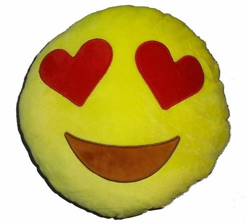 cojin almohada emoji emoticone whatsapp peluche 30cm