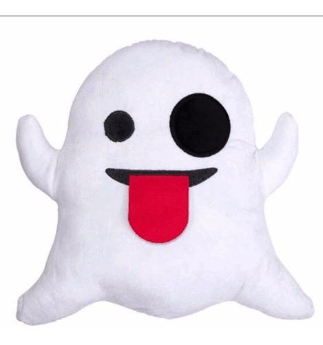 cojín almohada emoji fantasma whatsapp