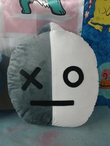 cojin almohada peluche bts bt21, k-pop fanmade 35x35cm