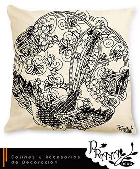 cojín - almohadón - accesorios decoración sala - dormitorio